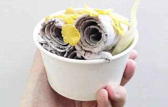 专业智能型炒冰淇淋卷机